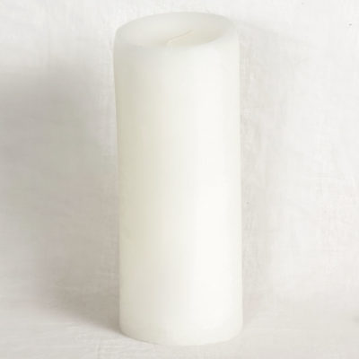 Paraffin Wax Pillar Candle Large