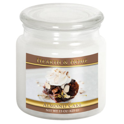 Almond Cake - Medium Jar Candle