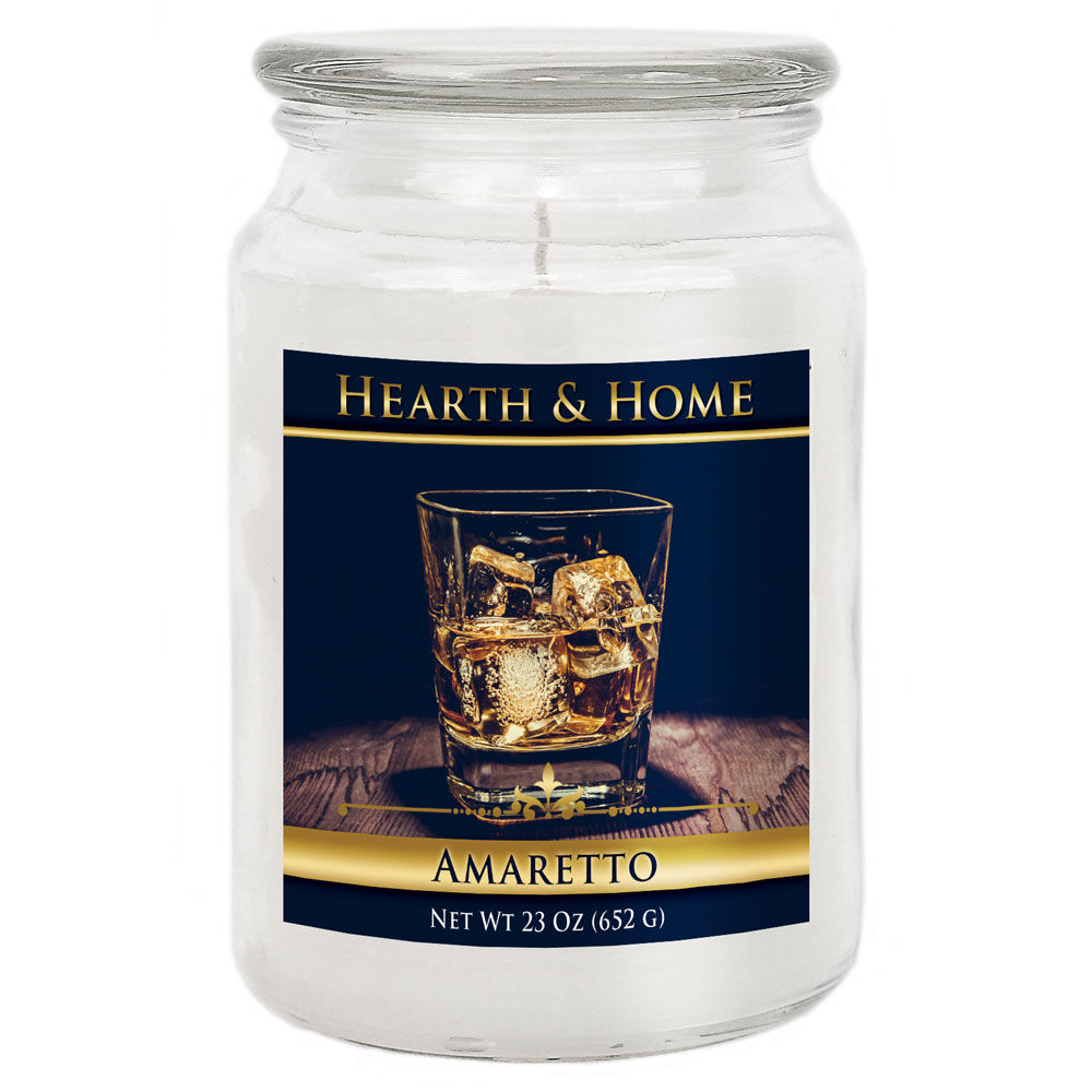 Amaretto - Large Jar Candle