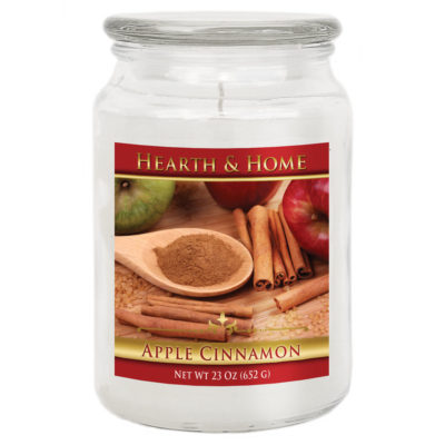 Apple Cinnamon - Large Jar Candle