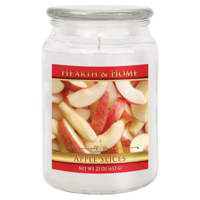 Apple Slices - Large Jar Candle