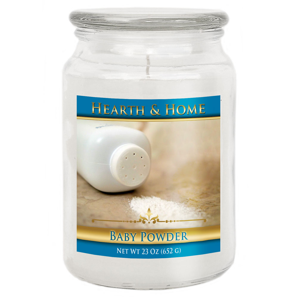 Baby Powder - Large Jar Candle