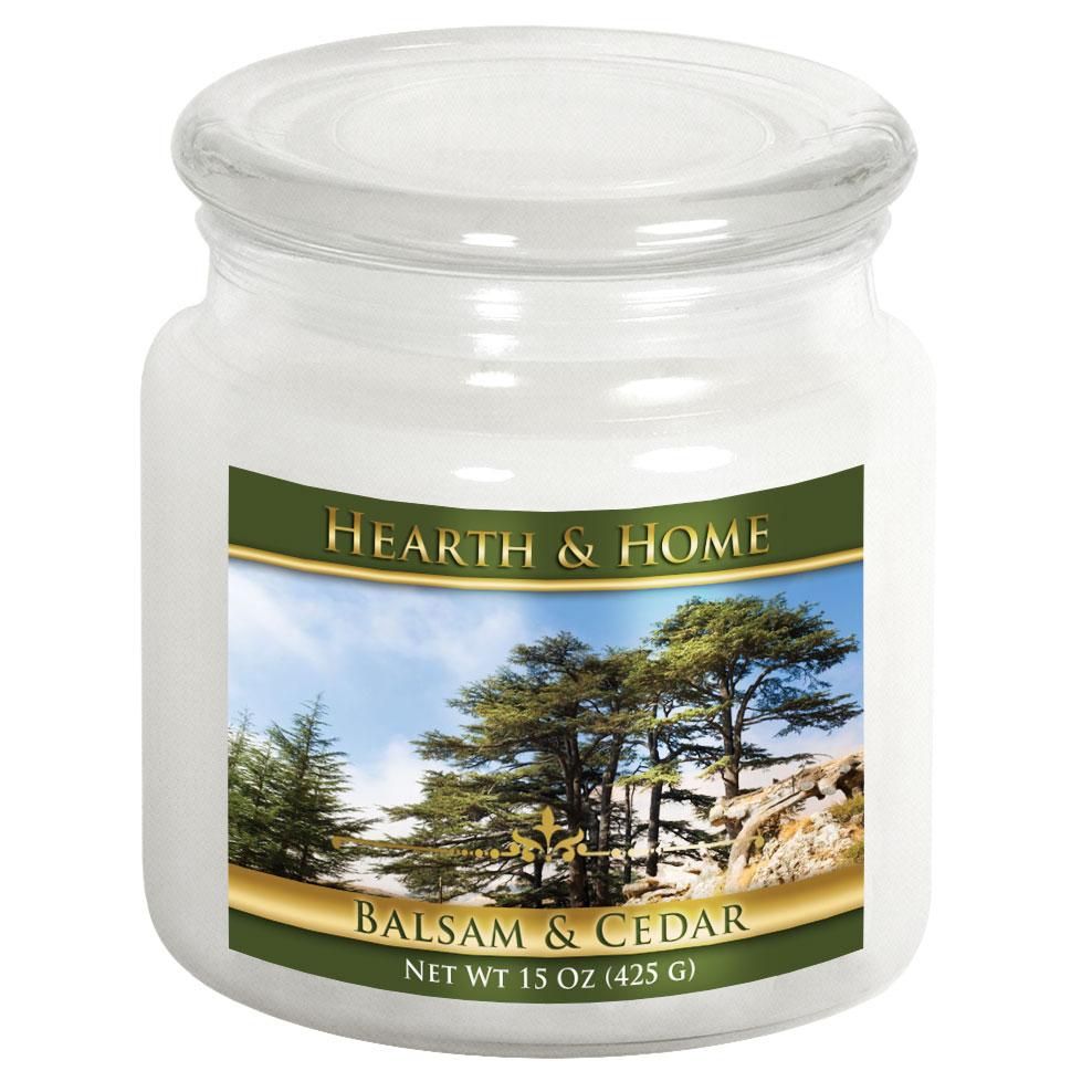 Balsam & Cedar - Medium Jar Candle