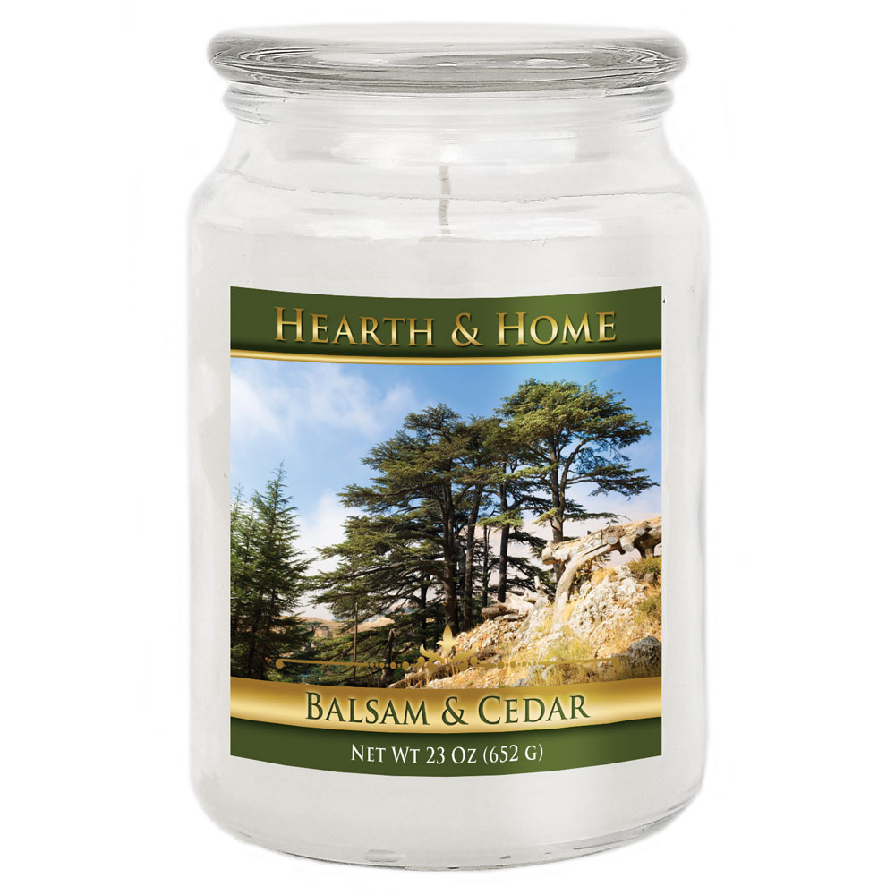 Balsam & Cedar - Large Jar Candle