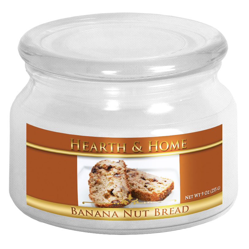 Banana Nut Bread - Small Jar Candle