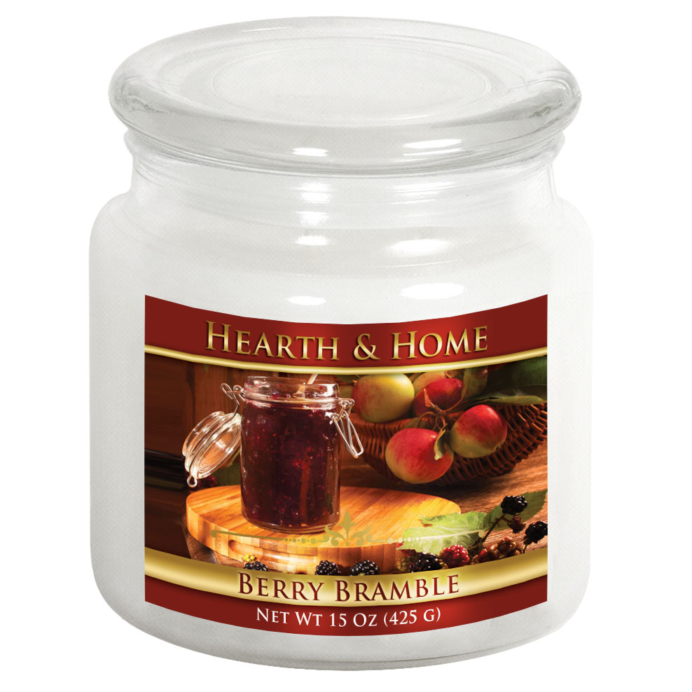 Berry Bramble - Medium Jar Candle