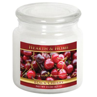 Black Cherry - Medium Jar Candle