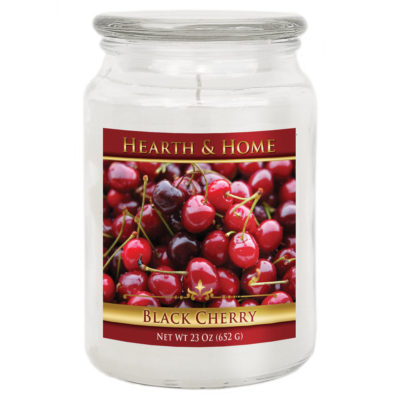 Black Cherry - Large Jar Candle