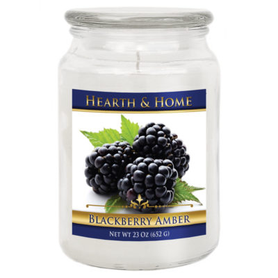 Blackberry Amber - Large Jar Candle