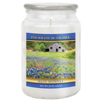 Blue Bonnet - Large Jar Candle