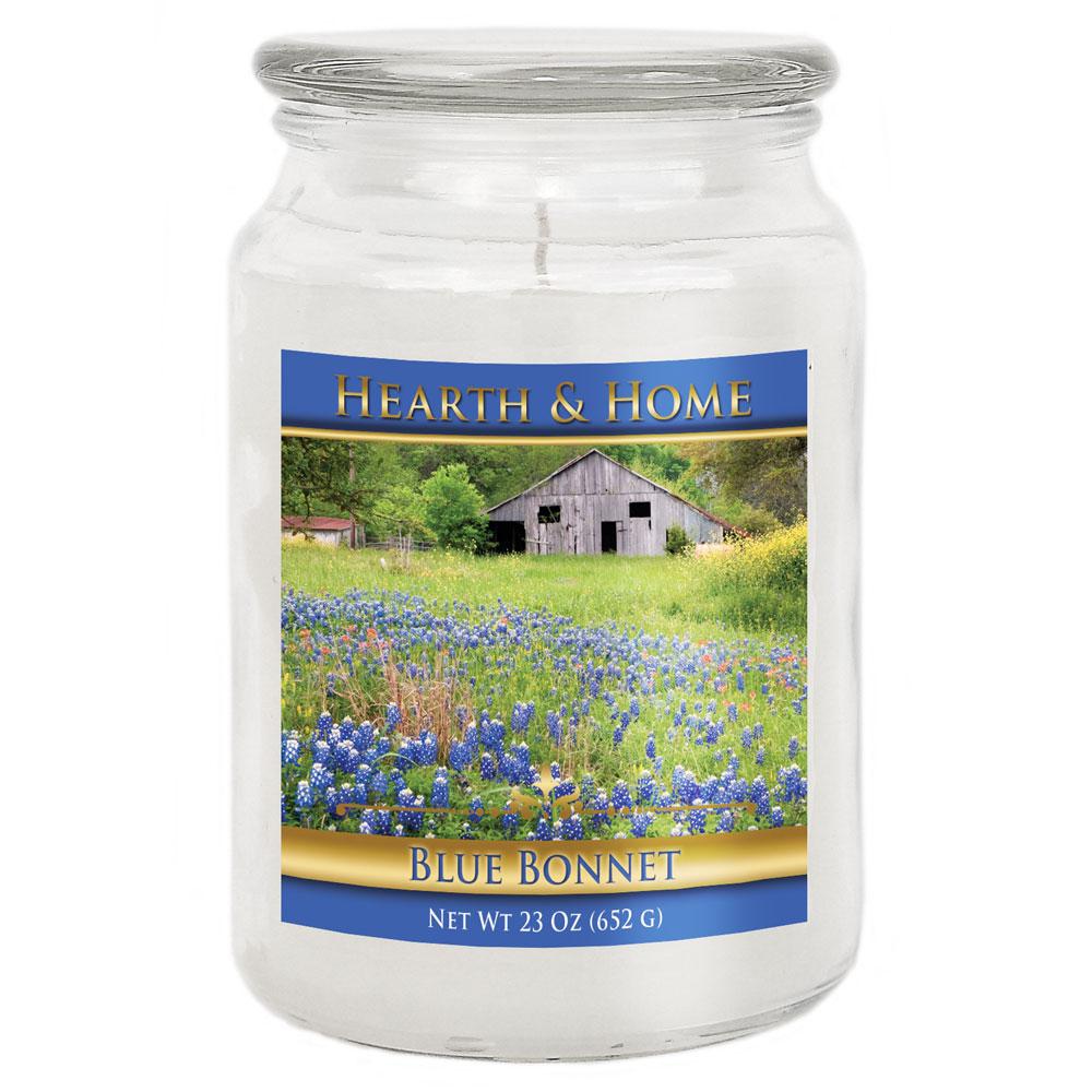 Blue Bonnet - Large Jar Candle