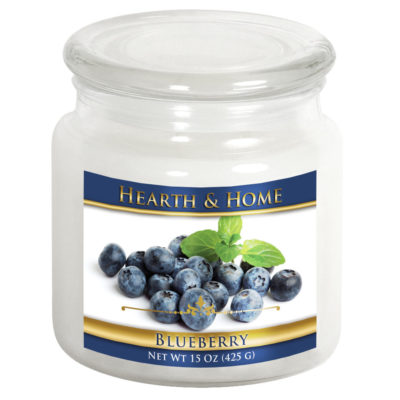 Blueberry - Medium Jar Candle