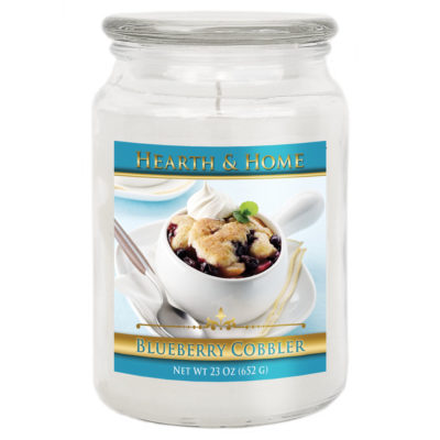 Blueberry Cobbler - Large Jar Candle