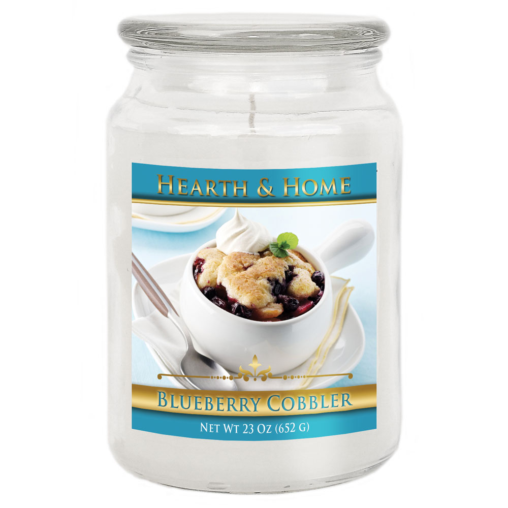 Blueberry Cobbler - Large Jar Candle