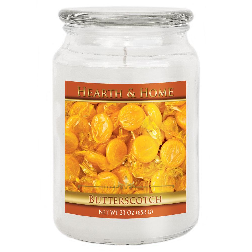 Butterscotch - Large Jar Candle
