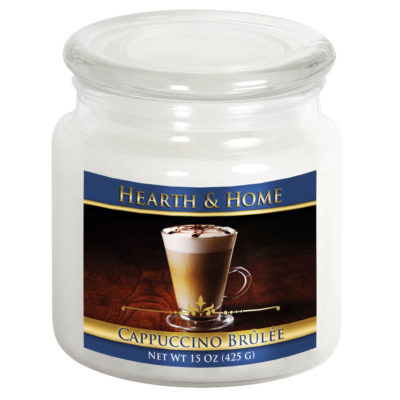 Cappuccino Brulee - Medium Jar Candle