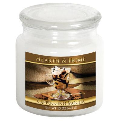 Cappuccino Mocha - Medium Jar Candle