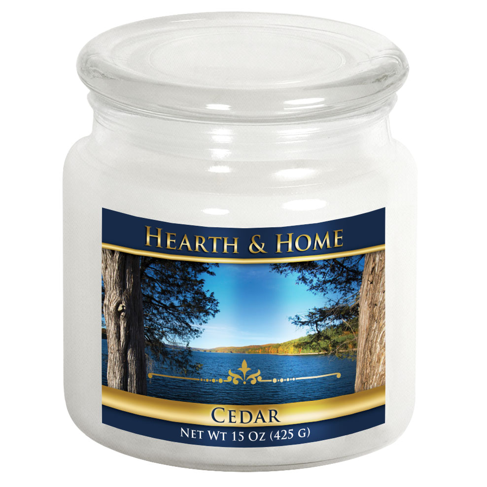 Cedar - Medium Jar Candle