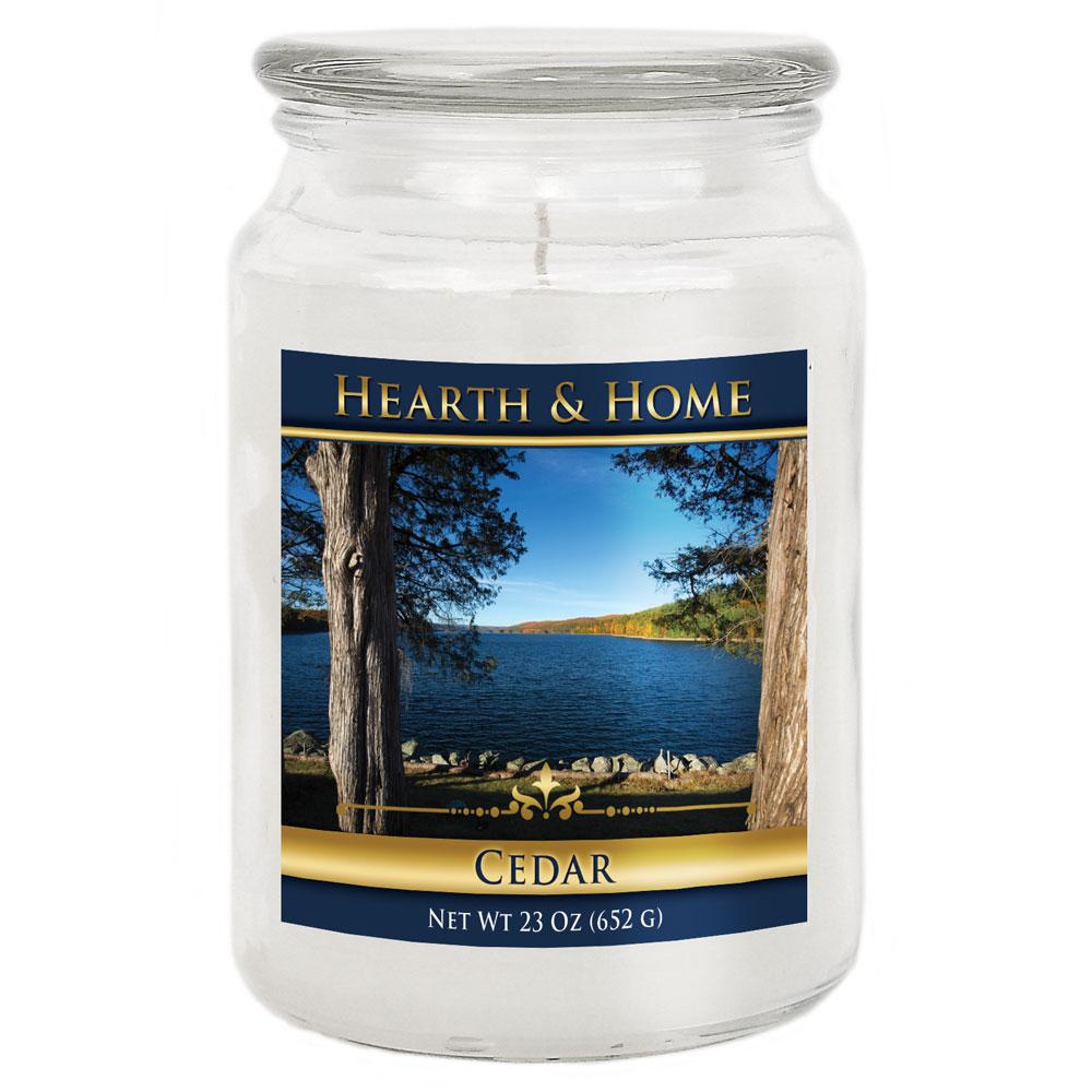 Cedar - Large Jar Candle