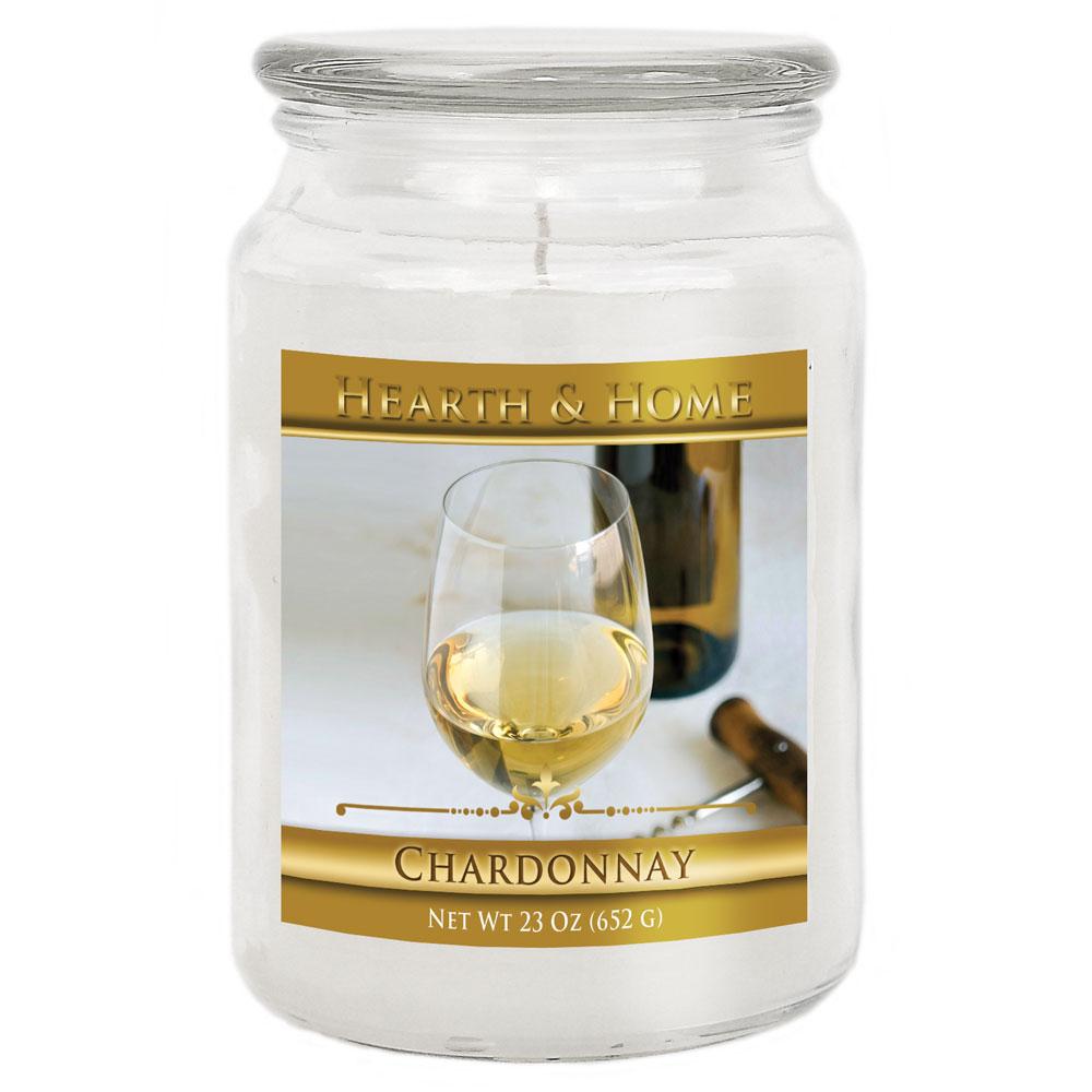 Chardonnay - Large Jar Candle