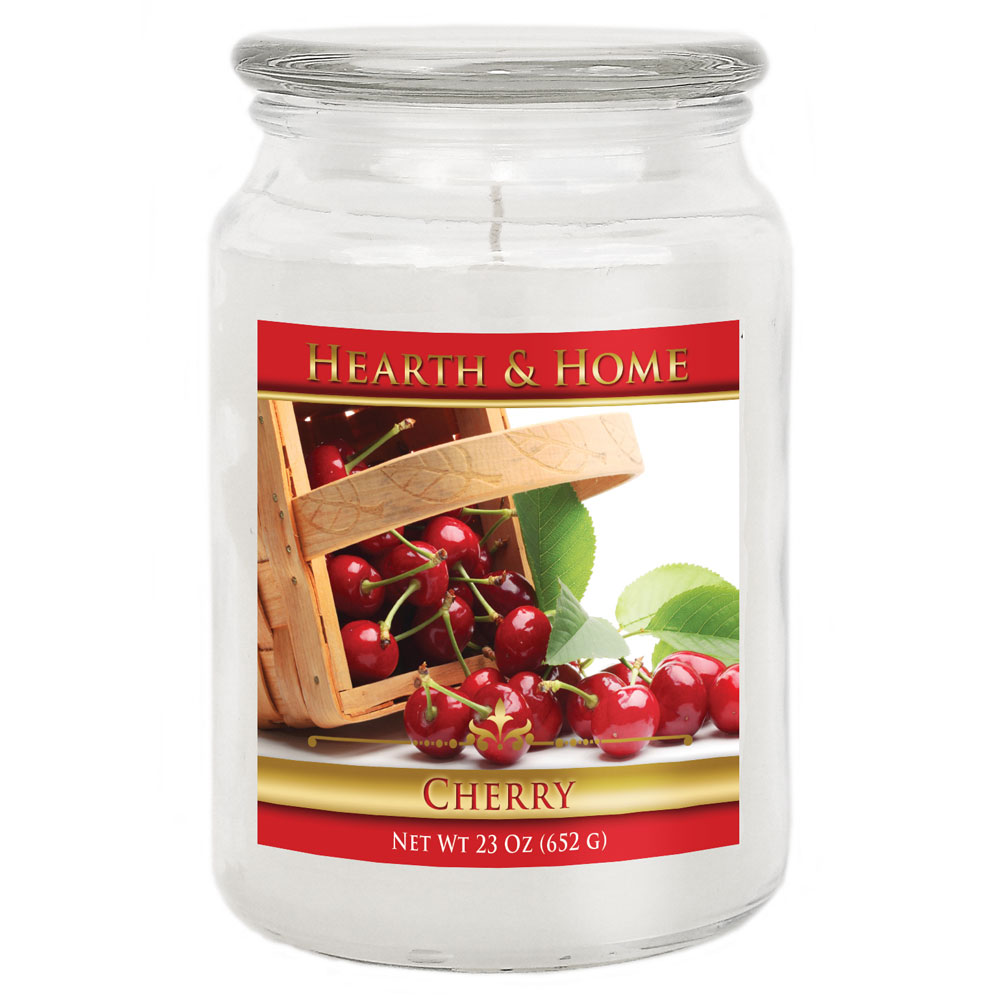 Cherry - Large Jar Candle