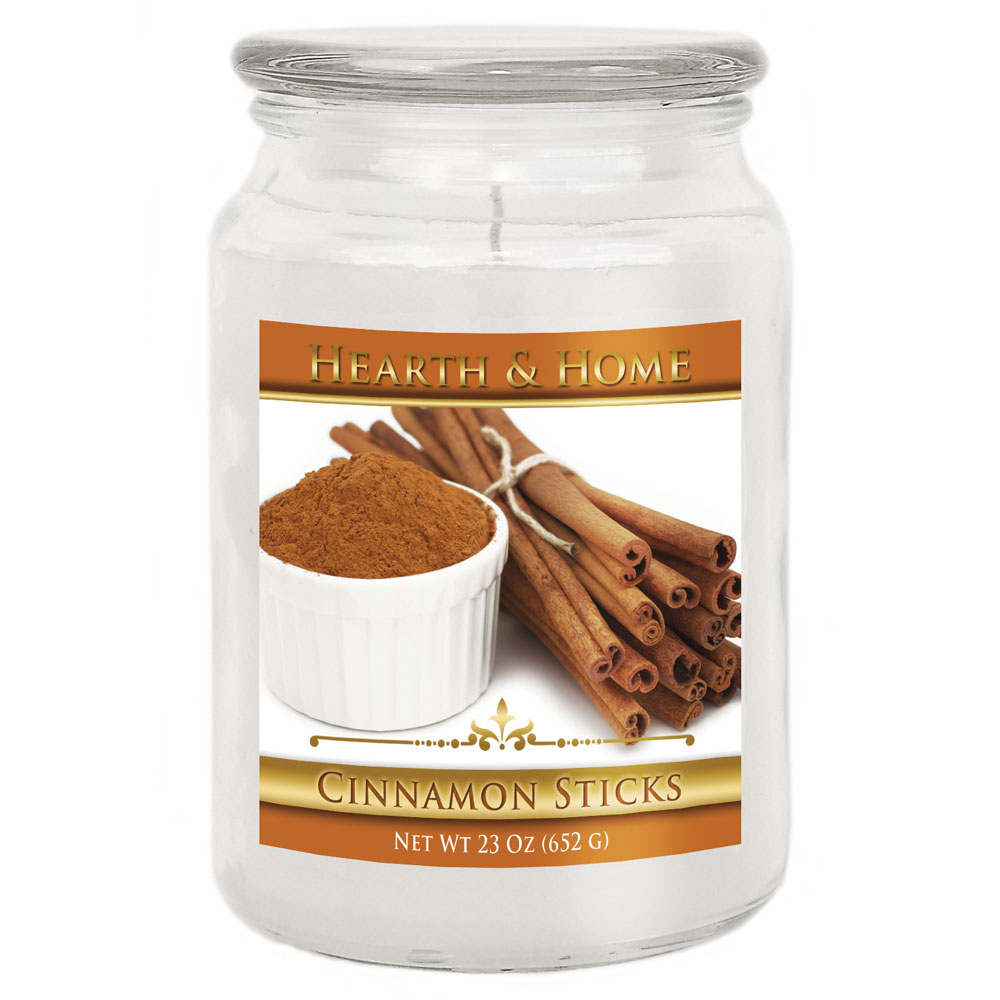 Cinnamon Sticks - Large Jar Candle