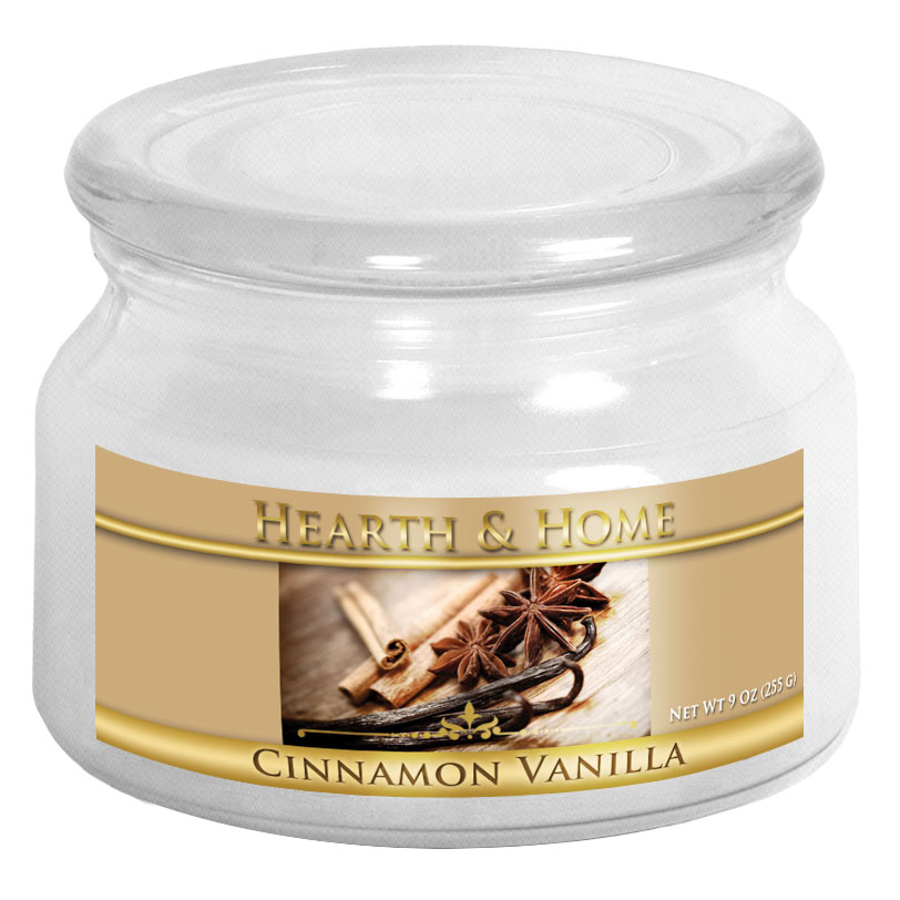 Cinnamon Vanilla - Small Jar Candle