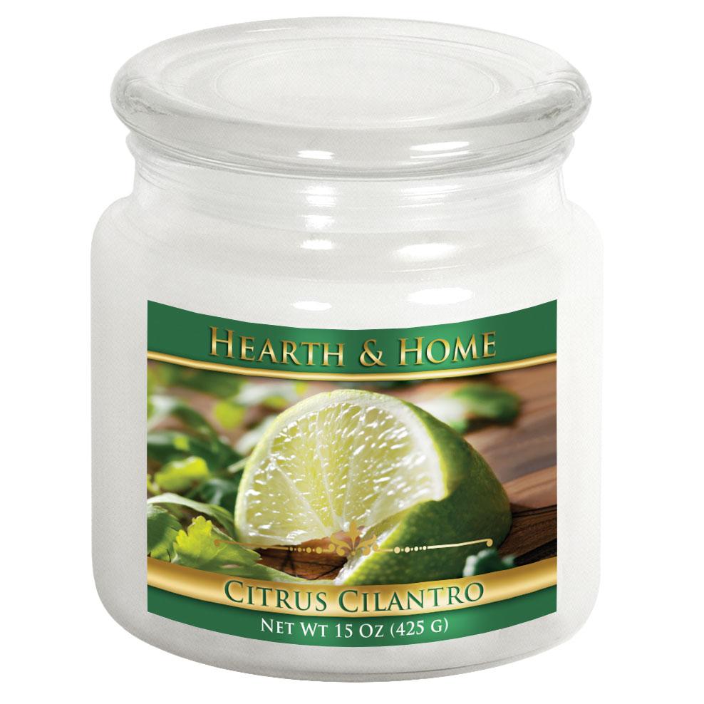 Citrus Cilantro - Medium Jar Candle