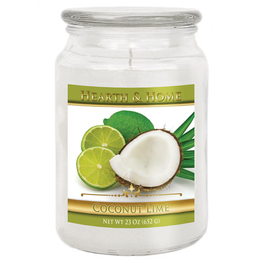 Coconut Lime - Large Jar Candle