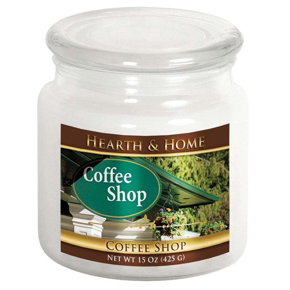 Coffee Shop - Medium Jar Candle