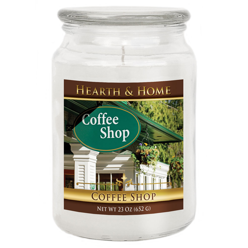 Coffee Shop - Large Jar Candle