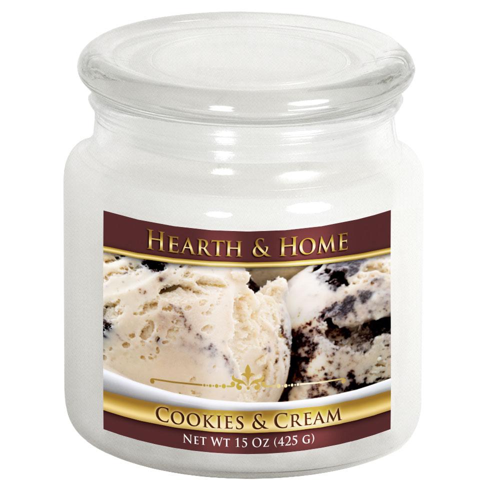 Cookies & Cream - Medium Jar Candle