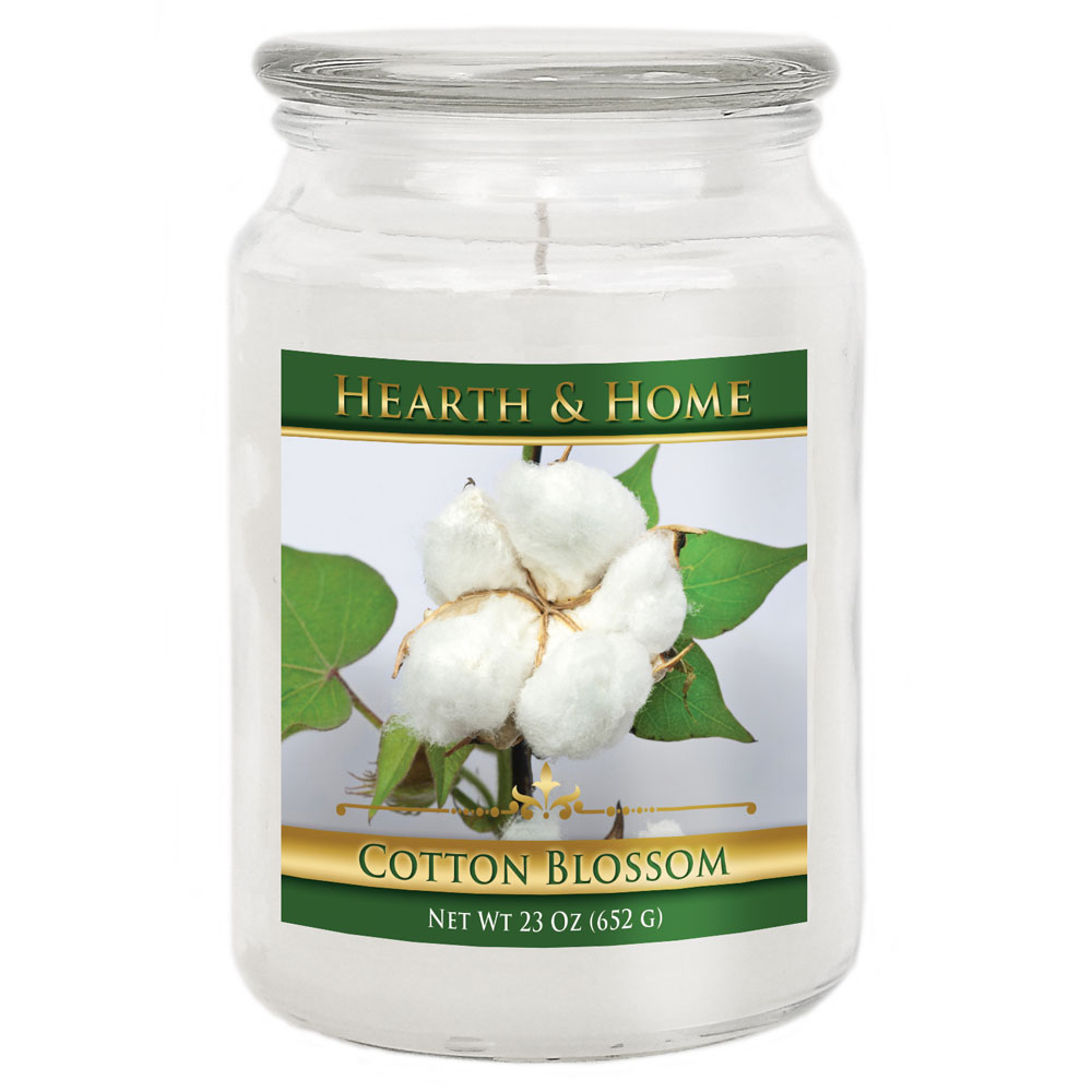 Cotton Blossom - Large Jar Candle