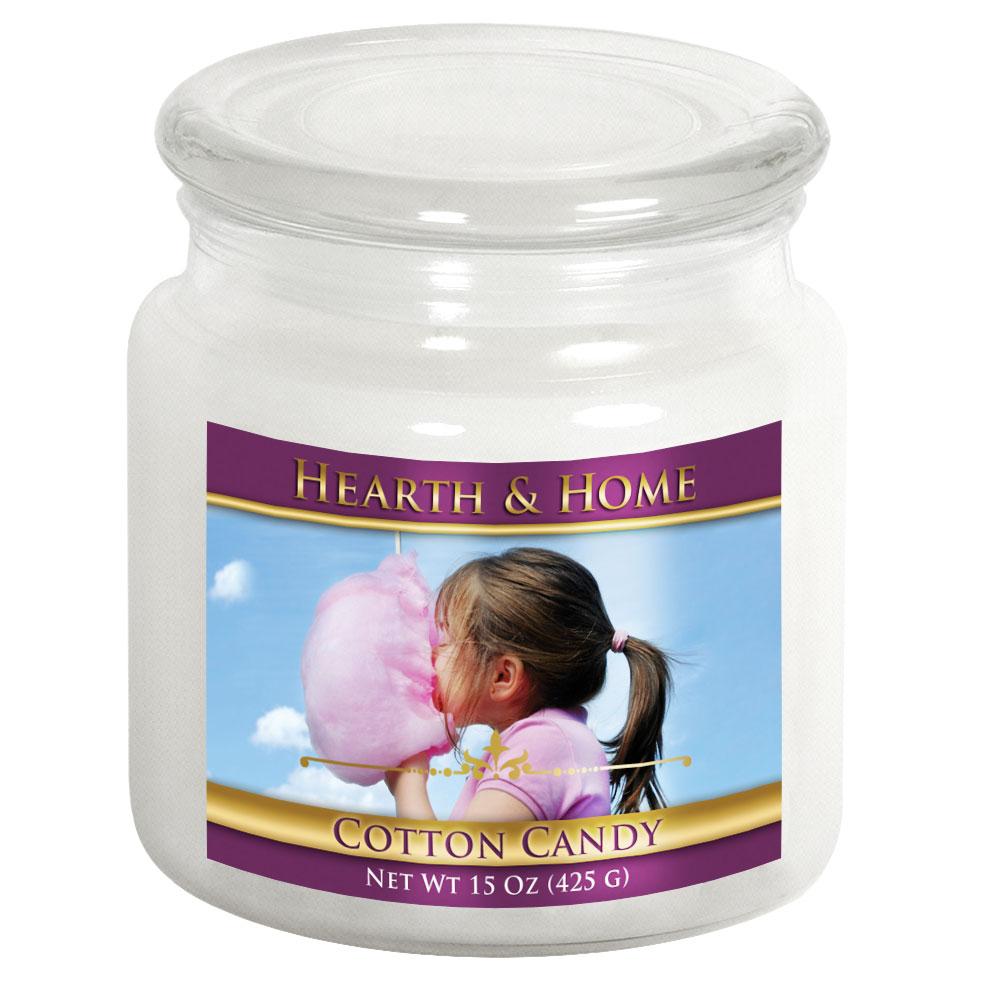 Cotton Candy - Medium Jar Candle
