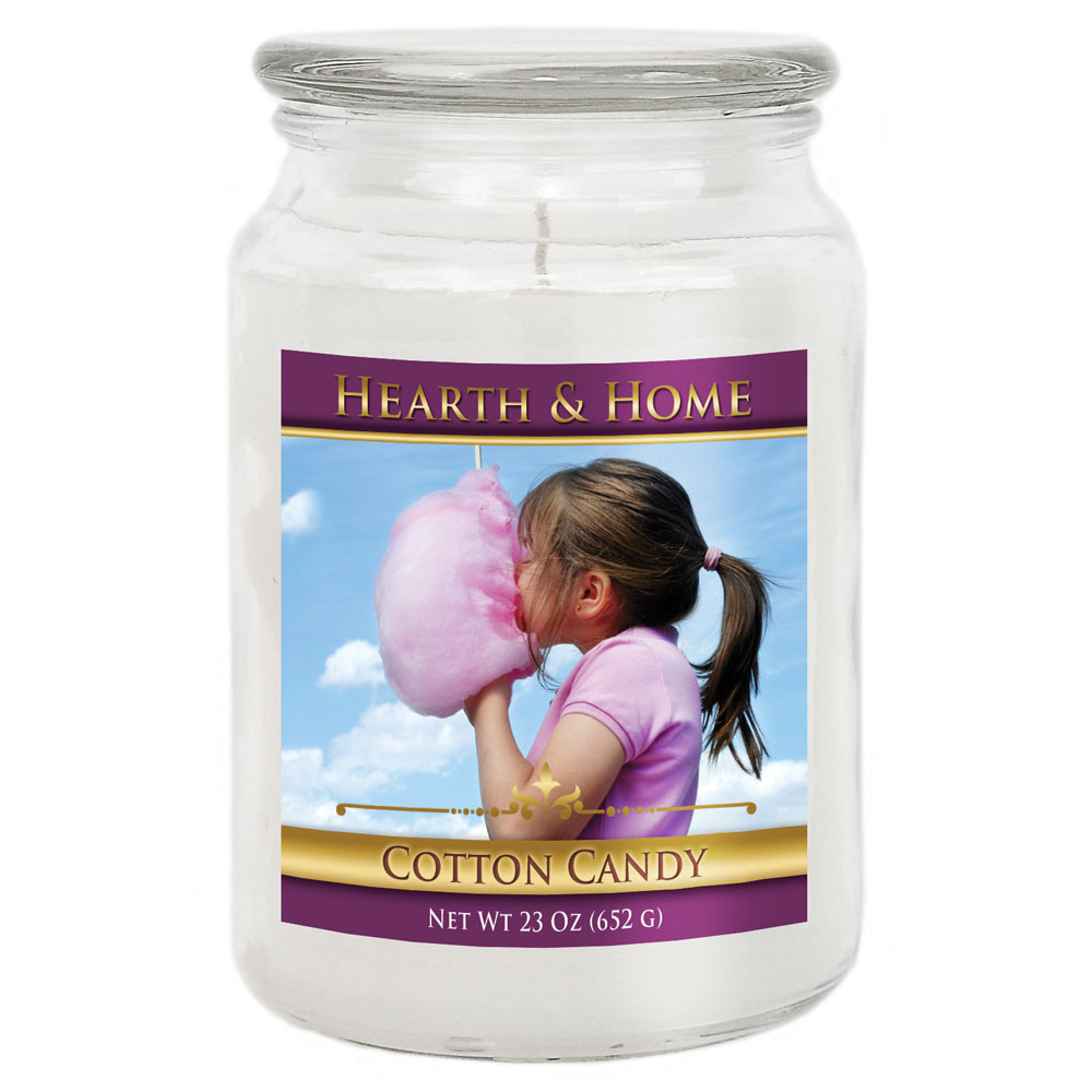 Cotton Candy - Large Jar Candle