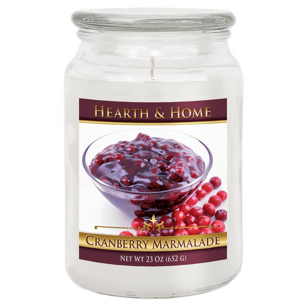 Cranberry Marmalade - Large Jar Candle