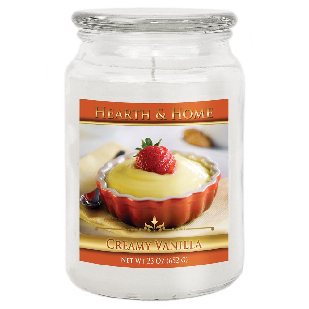 Creamy Vanilla - Large Jar Candle