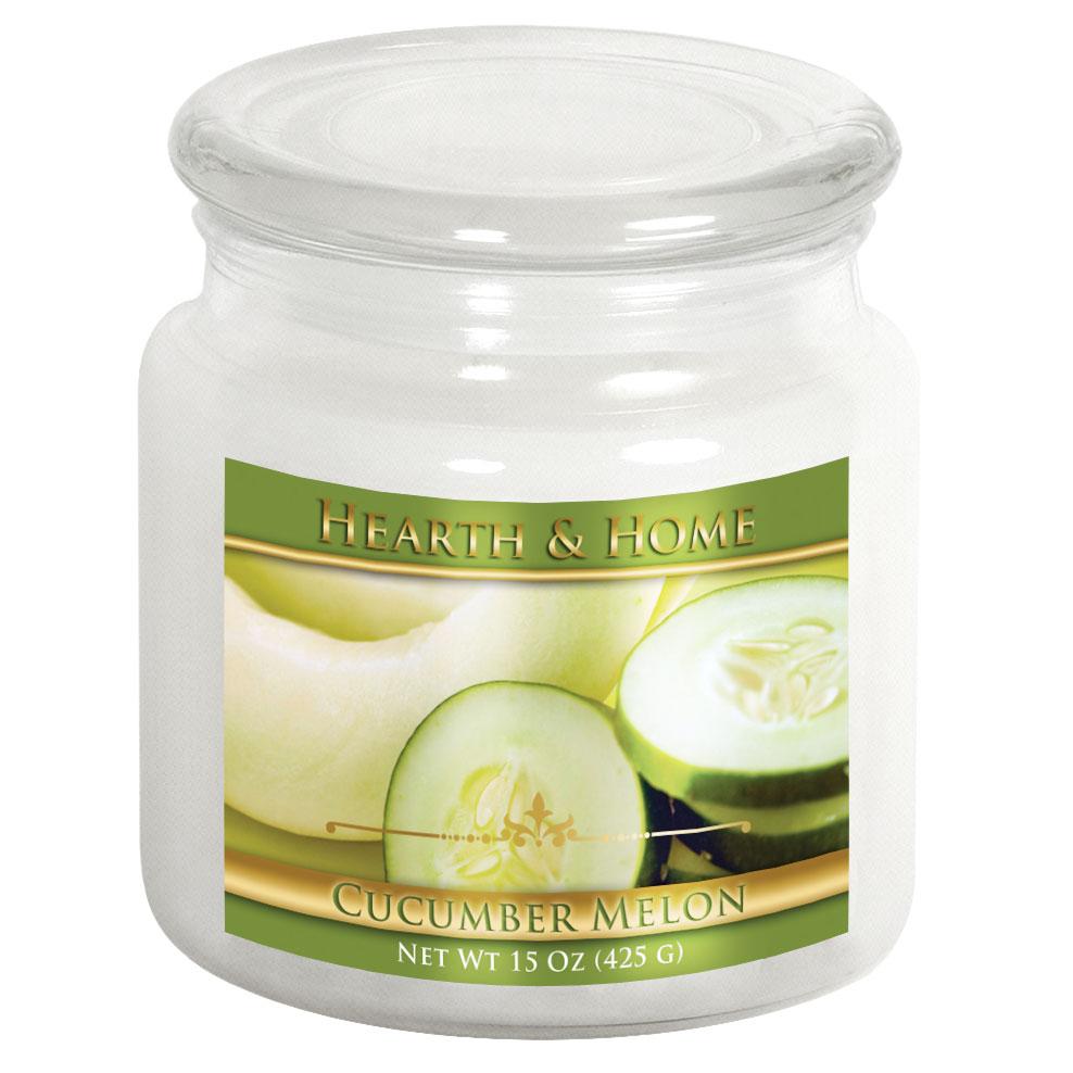 Cucumber Melon - Medium Jar Candle