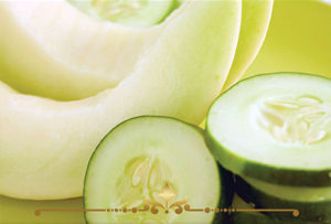 Cucumber Melon Scented Candles