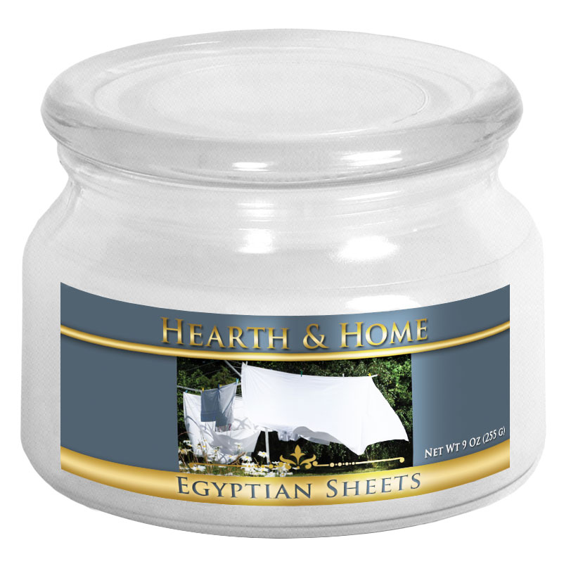 Egyptian Sheets - Small Jar Candle