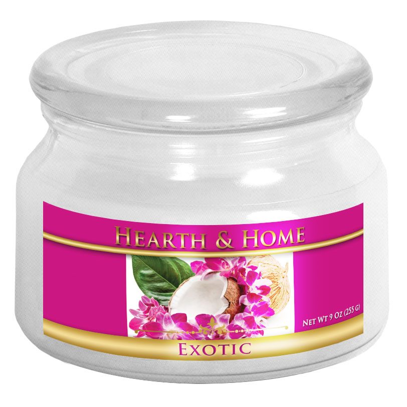 Exotic - Small Jar Candle