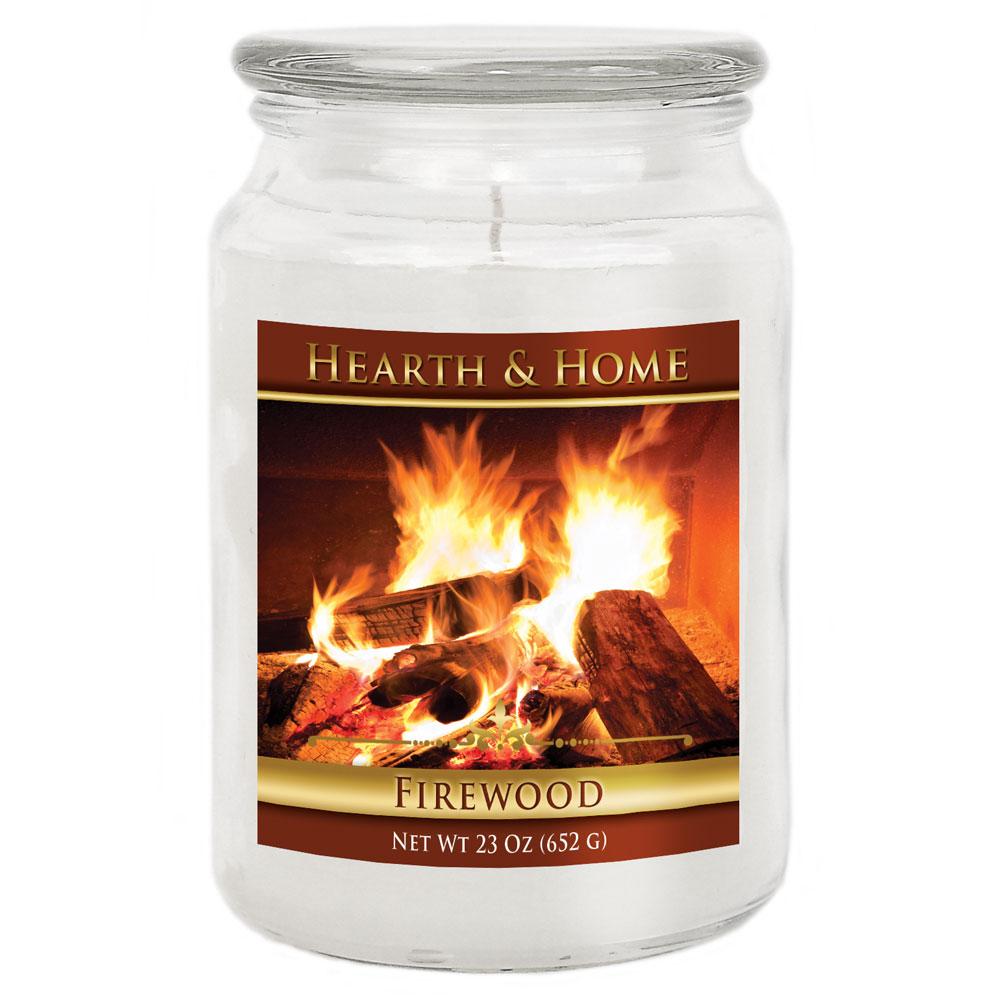 Firewood - Large Jar Candle