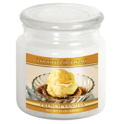 French Vanilla - Medium Jar Candle