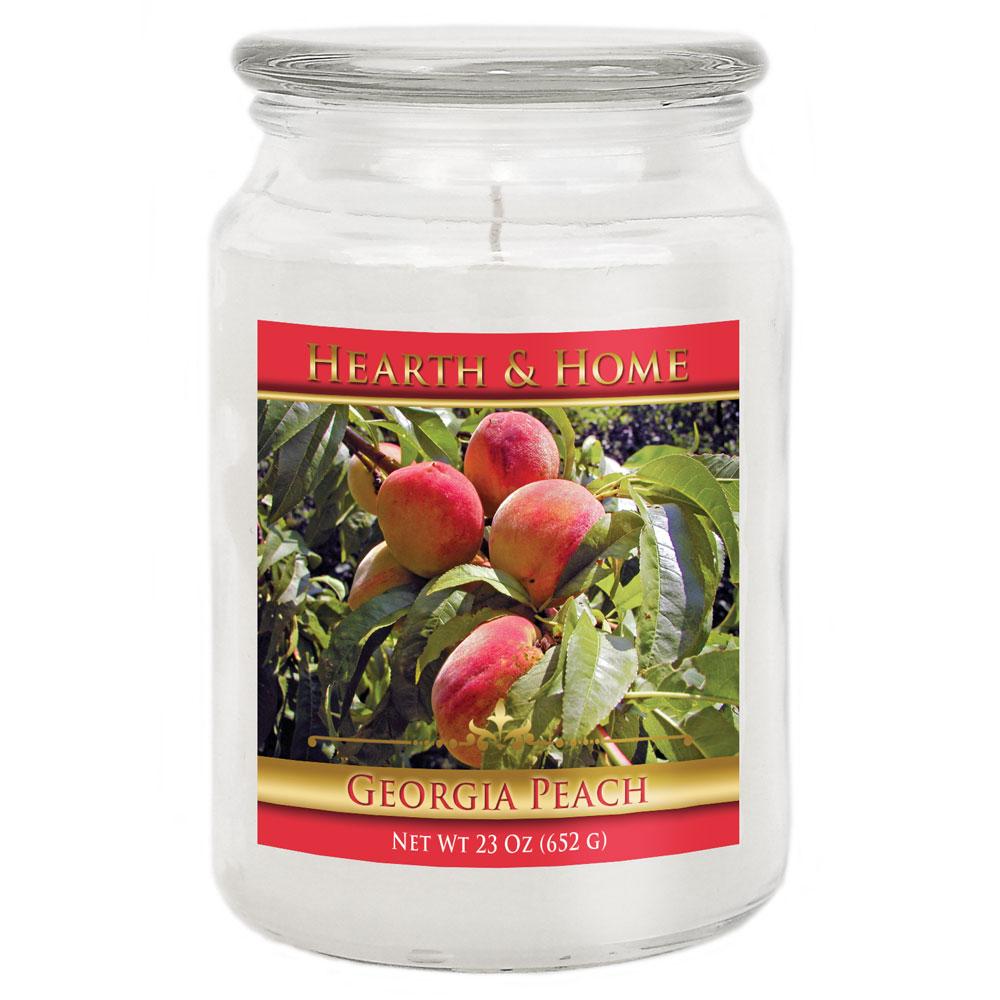 Georgia Peach - Large Jar Candle