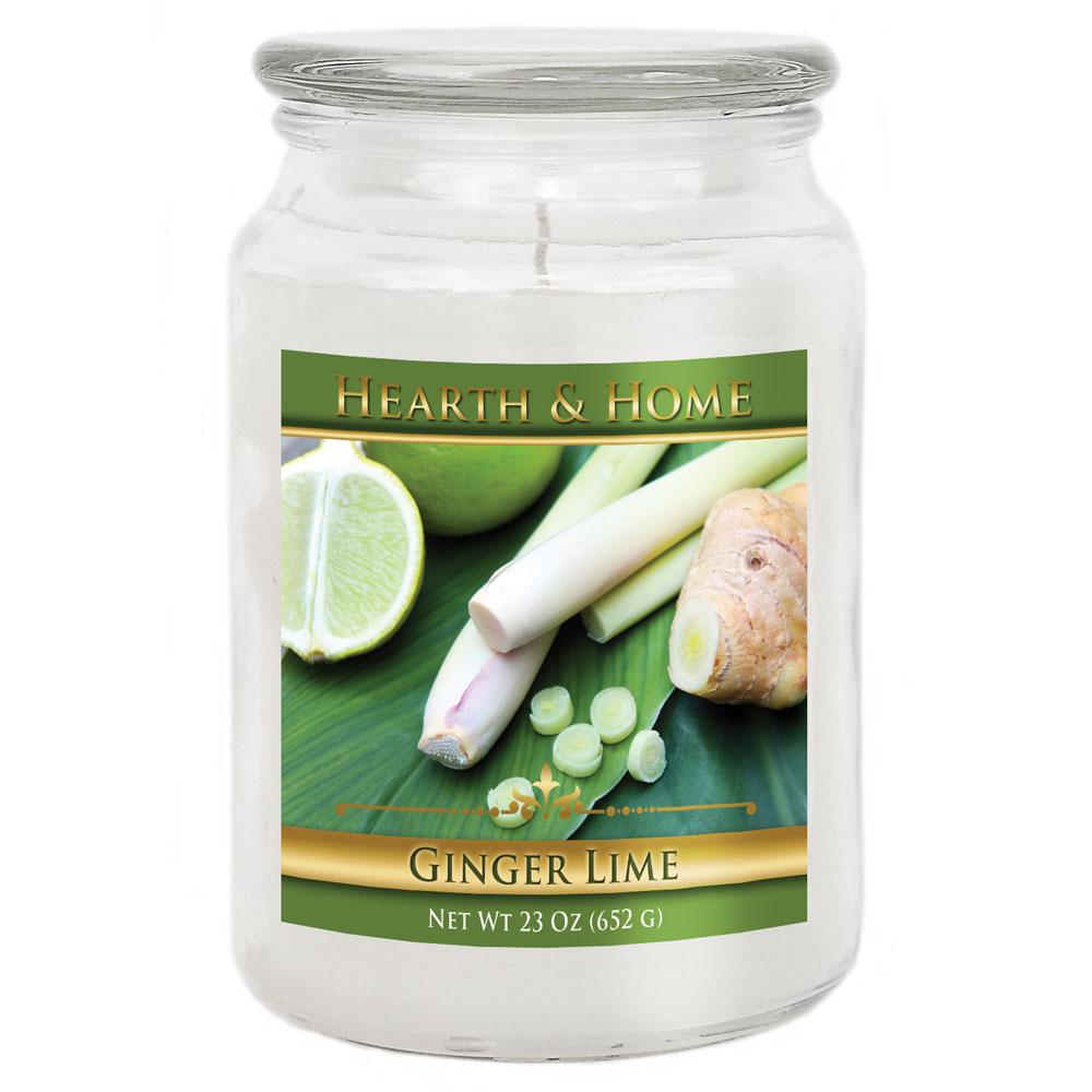 Ginger Lime - Large Jar Candle