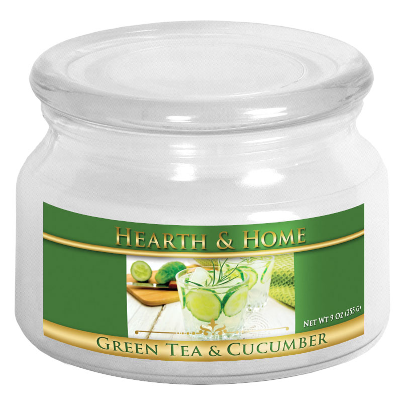 Green Tea & Cucumber - Small Jar Candle