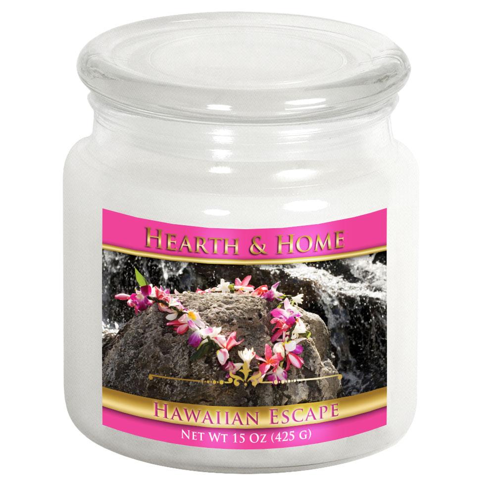 Hawaiian Escape - Medium Jar Candle