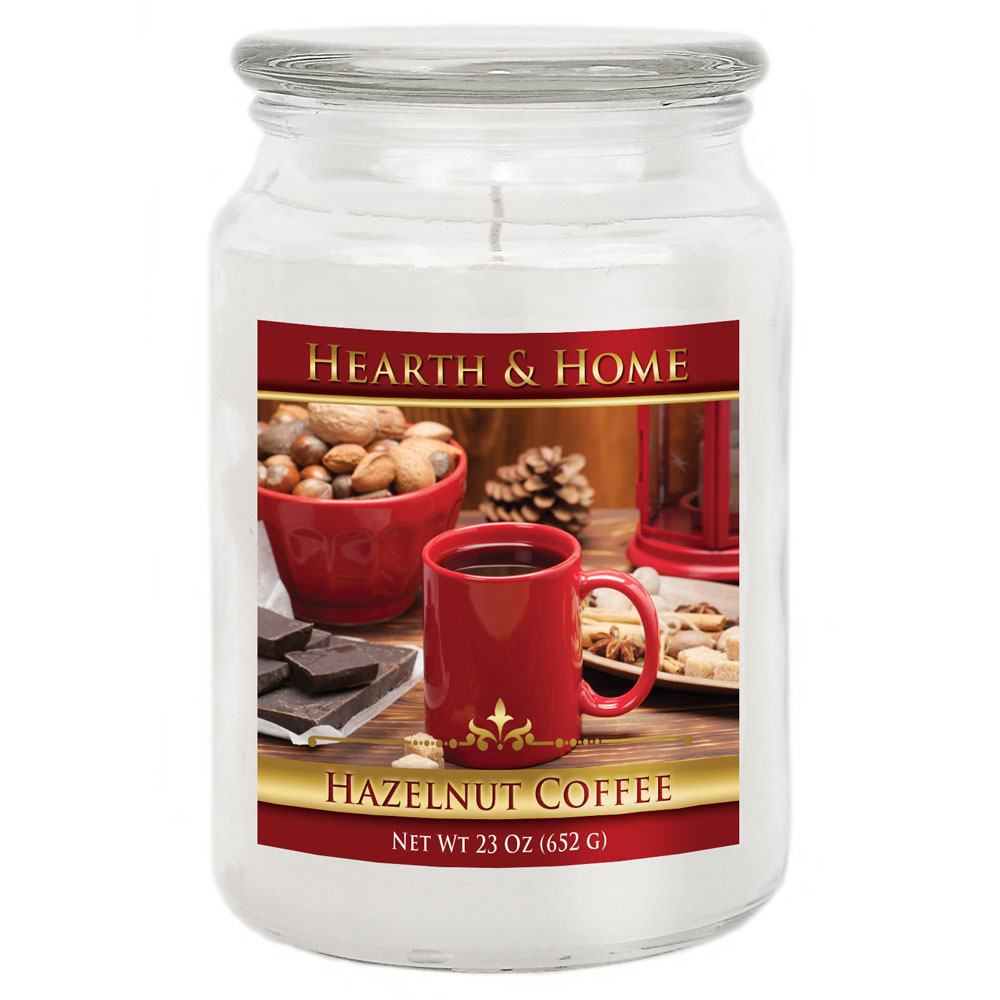 Hazelnut Coffee - Large Jar Candle