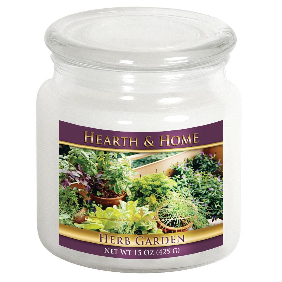 Herb Garden - Medium Jar Candle
