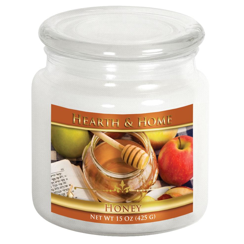 Honey - Medium Jar Candle